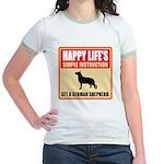 German Shepherd Dog Jr. Ringer T-Shirt