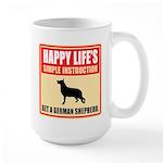 German Shepherd Dog Large Mug