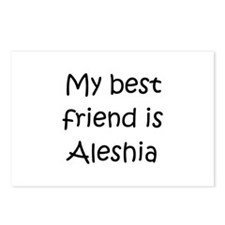 Aleshia Postcards (Package of 8)