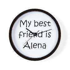 Cool Alena Wall Clock