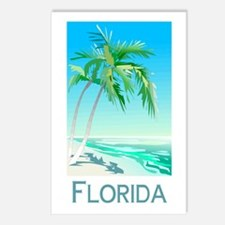 Florida Palms Postcards (Package of 8)