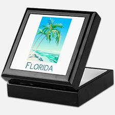 Florida Palms Keepsake Box