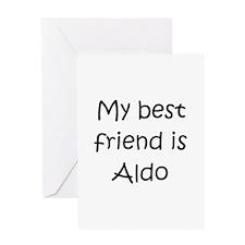 Cool Aldo Greeting Card