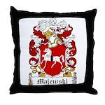 Majewski Family Crest Throw Pillow