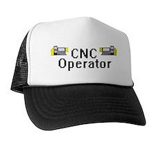 CNC Operator Trucker Hat Funny Cnc programmer fun