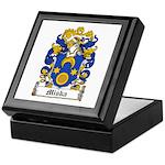 Miska Family Crest Keepsake Box