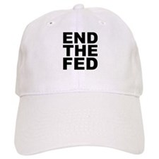 END THE FED Baseball Baseball Cap