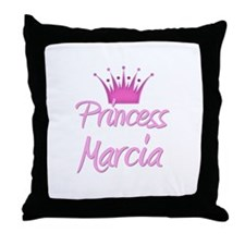 Princess Marcia Throw Pillow