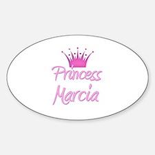 Princess Marcia Oval Decal