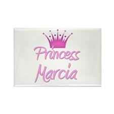 Princess Marcia Rectangle Magnet