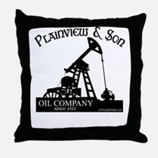 There Will Blood Plainview Throw Pillow