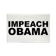 IMPEACH OBAMA Rectangle Magnet