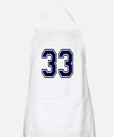 NUMBER 33 FRONT BBQ Apron