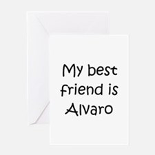 Cool Alvaro Greeting Card