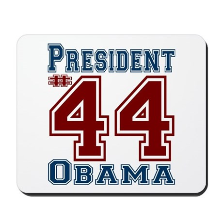 President Obama #44 Mousepad