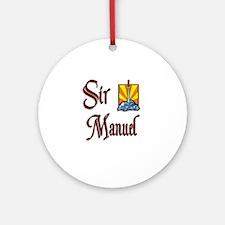 Sir Manuel Ornament (Round)