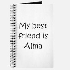 Cute My name alma Journal