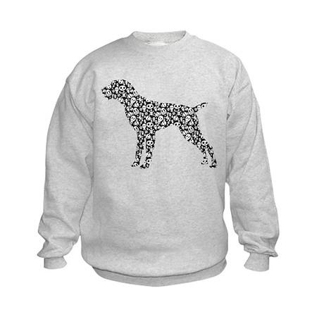 German Wirehaired Pointer Kids Sweatshirt