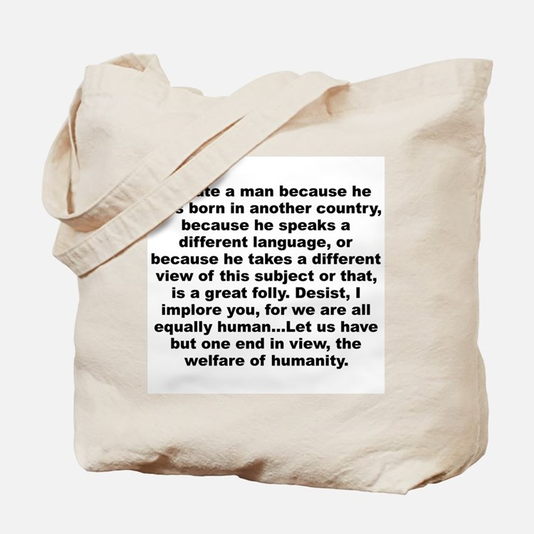 Cute Pro atheist Tote Bag