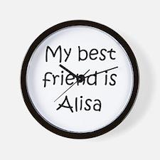 Cute Alisa Wall Clock