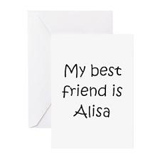 Cool Alisa Greeting Cards (Pk of 10)