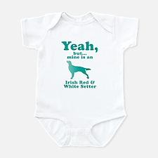 Irish Red & White Setter Infant Bodysuit