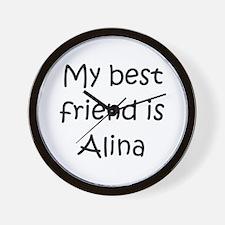 Unique Alina Wall Clock
