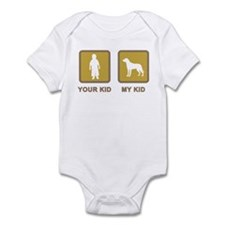 Greater Swiss Mountain Dog Infant Bodysuit