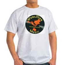 Johnny One Note Ash Grey T-Shirt