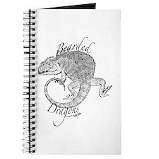 Cute Bearded dragon Journal