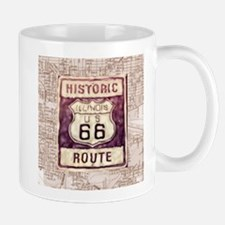 route 66- collage Mugs
