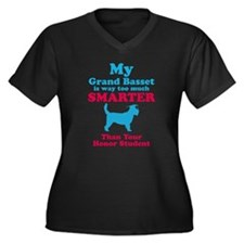Grand Basset Griffon Vendeen Women's Plus Size V-N