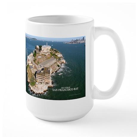 Alcatraz, San Francisco Bay Gifts Large Mug