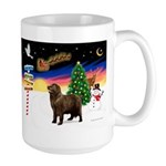 XmasSigns/Newfie Large Mug