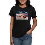 XmasStar/ Newfie Women's Dark T-Shirt
