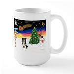 XmasSigns/BorderCollie 4 Large Mug