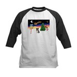 XmasSigns/BorderCollie 4 Kids Baseball Jersey