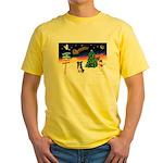 XmasSigns/BorderCollie 4 Yellow T-Shirt