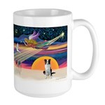 XmasStar/Border Collie Large Mug