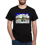 XmasMusic1/PBGV #9 Dark T-Shirt