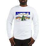 XmasMusic1/PBGV #9 Long Sleeve T-Shirt