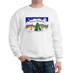 XmasMusic1/PBGV #9 Sweatshirt