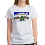 XmasMusic1/PBGV #9 Women's T-Shirt