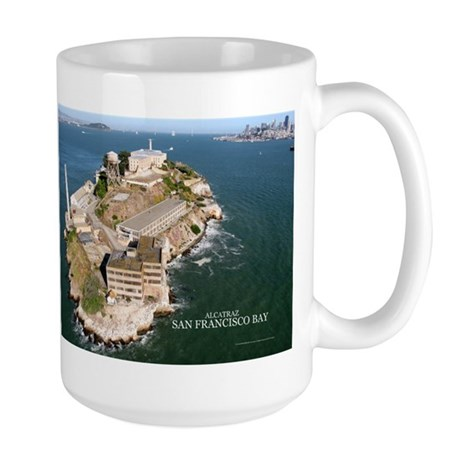 Alcatraz, San Francisco Bay Gifts Large Mug