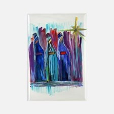 Los Tres Reyes Magos Rectangle Magnet