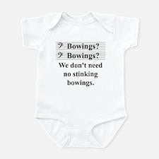 Bowings? Bowings? Onesie
