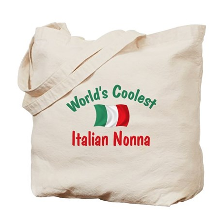 Coolest Italian Nonna Tote Bag