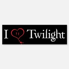 I Love Twilight Bumper Bumper Bumper Sticker