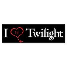 I Love Twilight Bumper Bumper Sticker