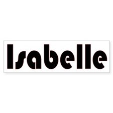 Isabelle Bumper Bumper Sticker